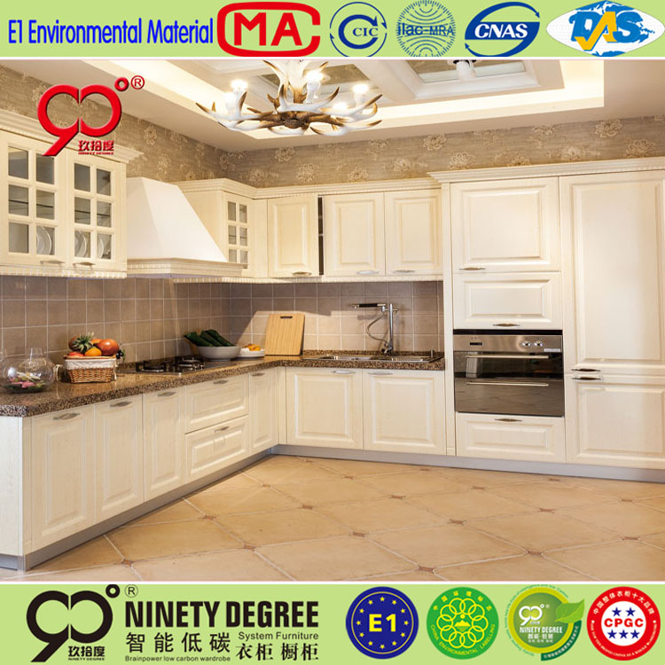 High quality pvc membrane kitchen cabinet plastic cover