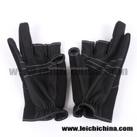 stock available waterproof neoprene fishing gloves