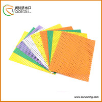 high density colorful punch eva foam coiled material