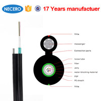 GYXTC8S 4 core aerial fiber optic cable/fibre optic cable meter price good quality but cheap
