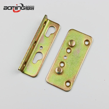 Hot sale furniture hardware steel bed rail metal bracket fittings