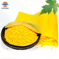 PE PP PS ABS PP-R PET color stability plastic pellets yellow color masterbatch