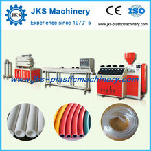 Double Screw Conical Plastic Extruder making Tube Machine