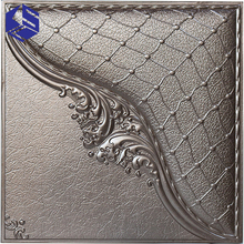 Elegant and Graceful 3D Texture Decorative Leather Wall Covering Panel