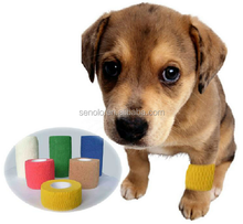 Veterinary Pet Wrap Cohesive self-adhesive Bandage for dog and horse