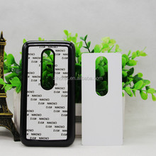 Sublimation Hard Plastic+Aluminum Sheet phone case for Motorola Moto G3