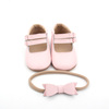 2018 Lovely Girls Asian Baby Pink White Dress Ballet Shoes for Sale