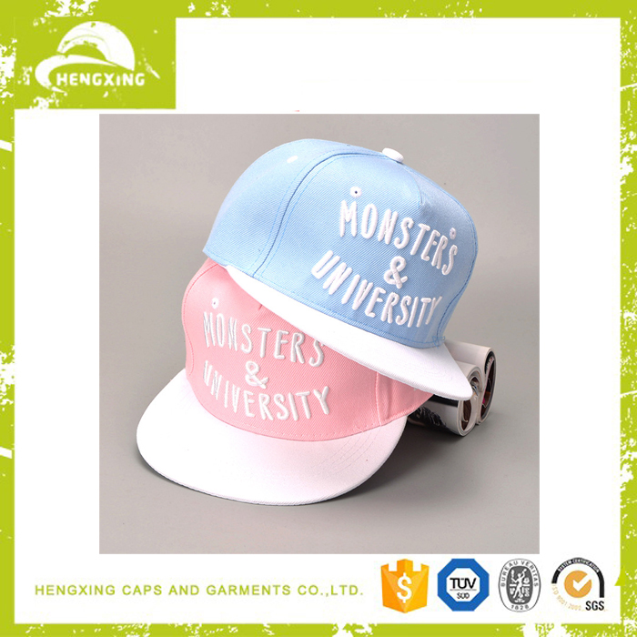 China reliable supplier custom snapback gorra