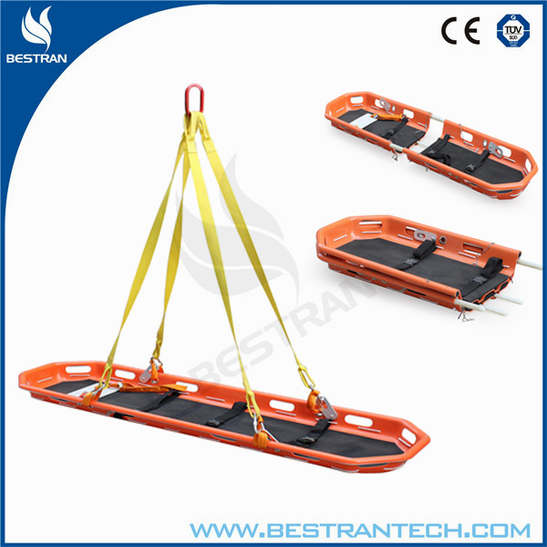 China supplier BT-TK002 helicopter rescue basket stretcher emergency rescue stretcher