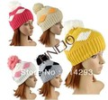 2013 Winter Women's Diamond Knitting Beanie Hat 9534