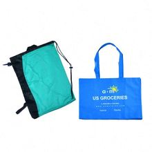 New recycle plastic tote bags with handles