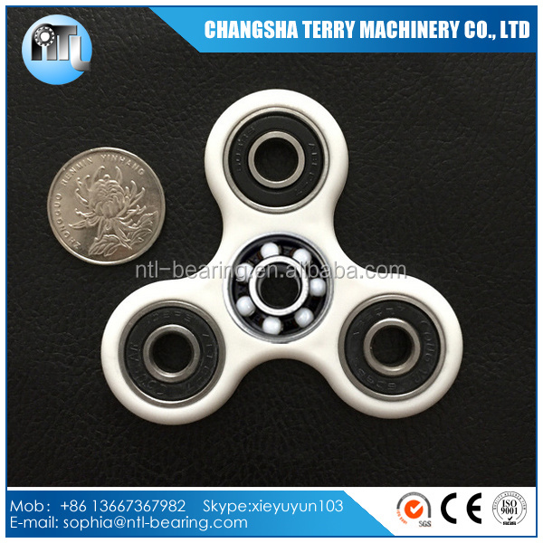 Fidget toy EDC Hand Spinner with 608 hybrid ceramic bearing