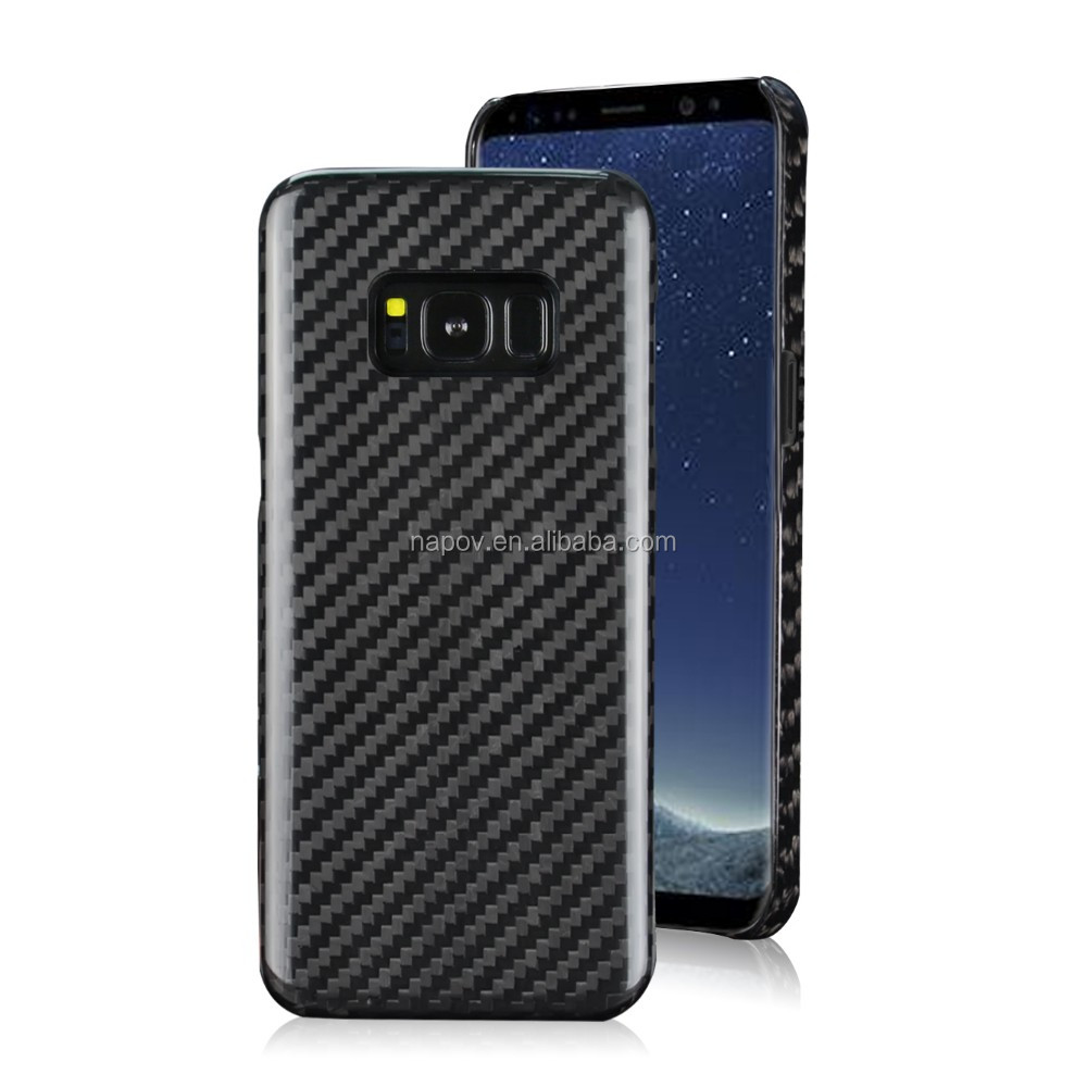 2017 Newest Products Carbon Fiber Phone Accessories Case for Samsung S8