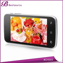 4inch wcdma touch screen ultra slim android smart phone