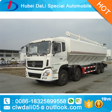 Dongfeng 32m3 8x4 Animal Feed Transport Truck for chicken,cattle,pig poultry farm