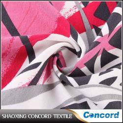 Low price Attractive discharge knitted fabric print