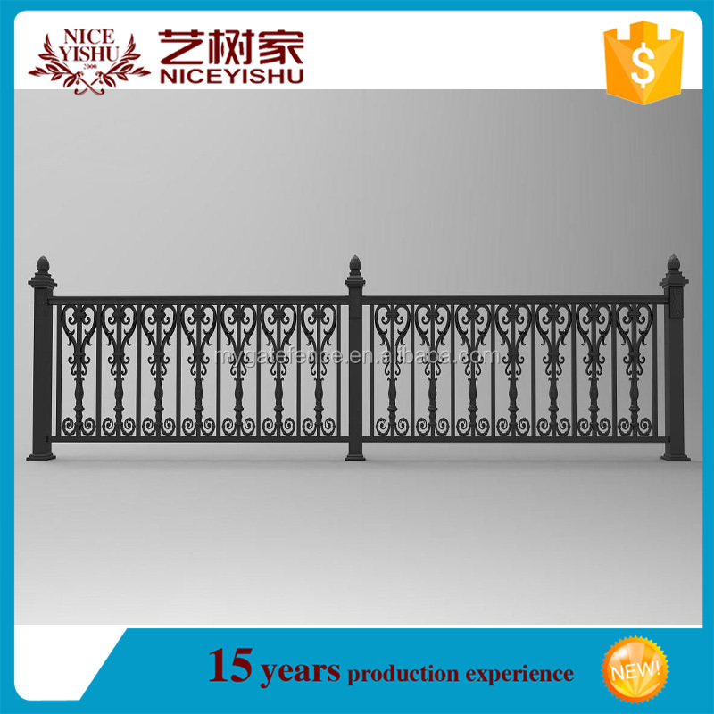 Yishujia factory series Aluminum Fence system, Aluminum Picket Fences