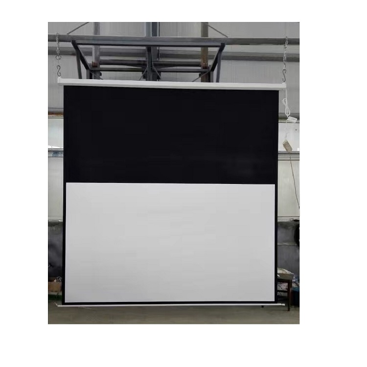 "Most popular 3D&4K 16:9 120"" electric screen with 1m black border"