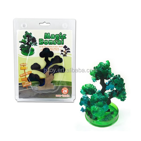 Magic growing pine tree new magic mystery paper