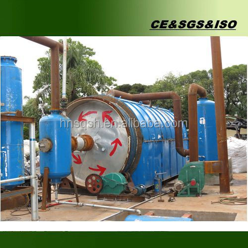 OEM services waste scrap tyre pyrolysis machine with CE ISO SGS