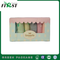 Small Socks Packing White Paper Box