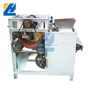 LEHAO beans grain skin peeler stainless steel emery roller dry type and wet type peanut peeling machine factory price wholesale