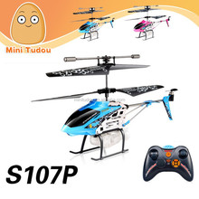 S107P Remote Control Helicopter Shantou mini 3 CH RC Helicopter model