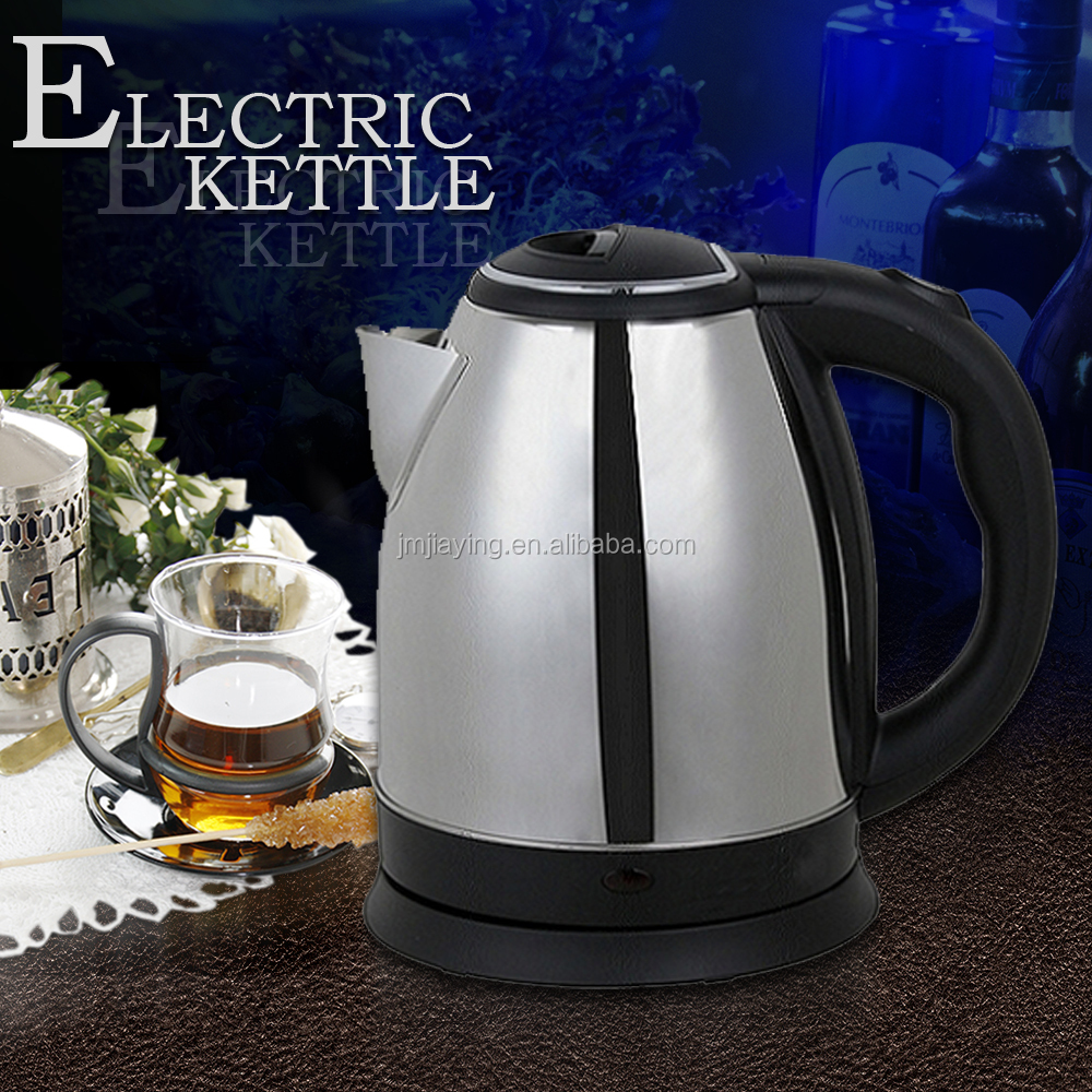 Low Price 2.6usd 1.8L Hot Sell Good Quality Electric Kettle Water Kettle Stainless Kettle