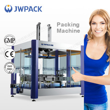JWPACK New Product KZ-2C Automatic carton openning packing and sealing machine