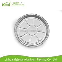 "Super Quality Disposable Microwave 12"" Aluminium Foil Pizza Tray"