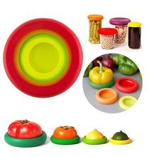 Explosion models 4 sets of silicone <strong>fruit</strong> and vegetable fresh-keeping cover