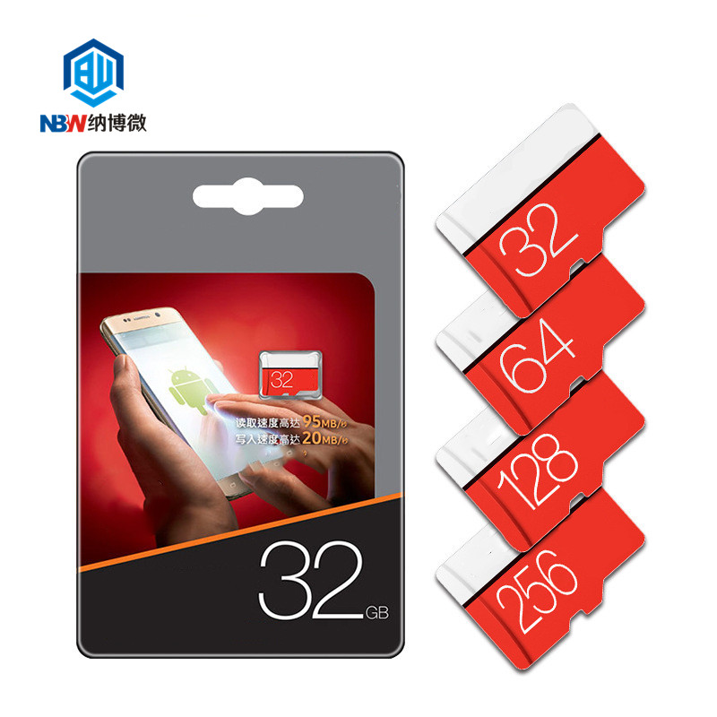 Hot sale mini sd TF Card 8GB 16GB 32GB 64GB 128GB C10 Memory Micro Card for Smartphone Adapter