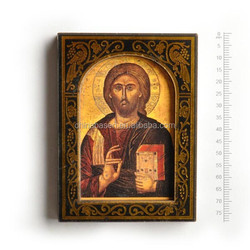 stately jesus travel souvenir fridge magnet