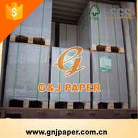 Double Sides Coating Triplex Board with White Back Paper Board