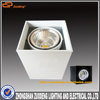 15W square led ceiling light/ single surface mounted ceiling led light/cob led ceiling light