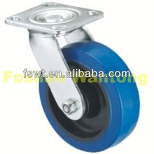 Heavy Duty Industrial Rubber Rotating Hardware solid caster wheel