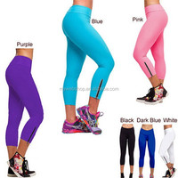 European and American fashion tights pants of fitness skinny riding bicycle yoga short pants