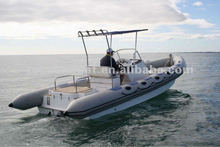 Family entainment RIB boat patrol rigid inflatable boat