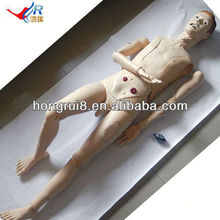 HOT SALE full-functional male human nursing model educational equipment