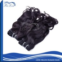 Popular hot sale high quality virgin remy black girl hair extensions