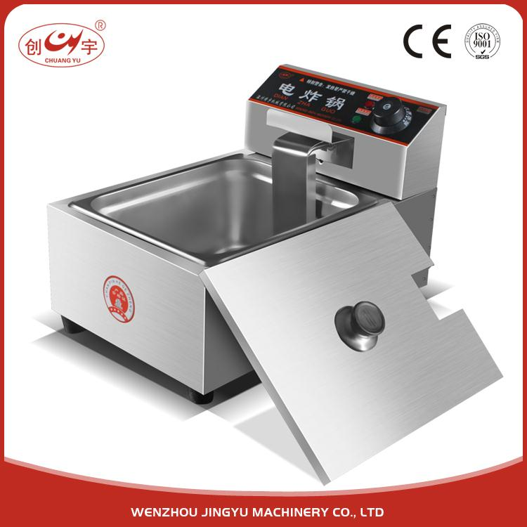 Chuangyu Buy China Products Automatic Electric Deep Fryer For Hotel Equipment Chicken Cooking