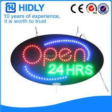 2017 Presell Design Oval Led Open Signs Supplier
