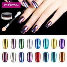 New Arrival Nail Art Decoration 16 Colors Chrome Magic Nail Mirror powder