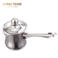 L10238782 Stainless Steel Coffee Warmer Boiling Milk Pot With Cover