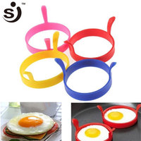 Best Kitchen Product Silicone Fired Egg Ring Cooker Heat Resistant Egg Former