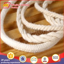 2016 New Factory Direct Sell Colored Twisted Cotton Rope/Braided Cotton Rope