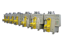 Commodity packing machine for flour