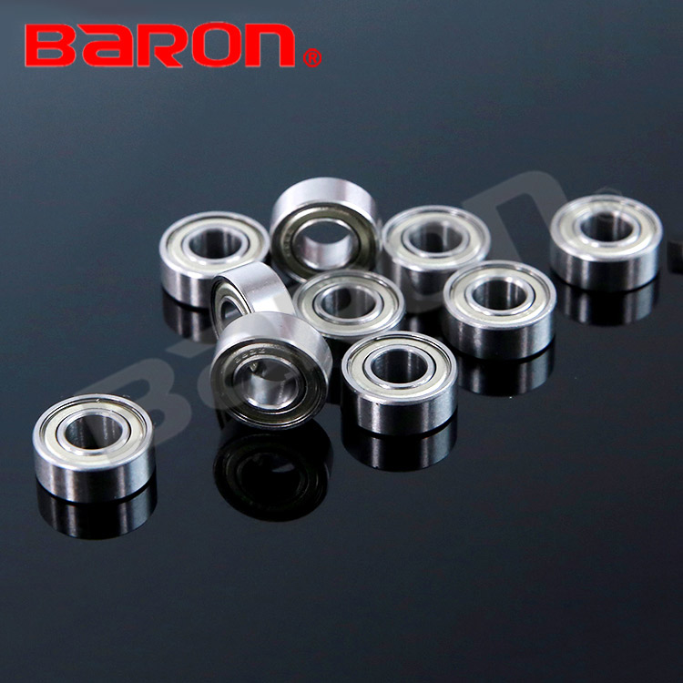 687ZZ high rotation speed thin section ball bearing for bikes
