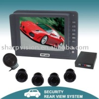 "5"" Digital Parking sensor system,Visible reverse parking system"