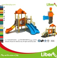 China Liben playground manufacturer Commercial Kids Toy Outside Playground for Outdoor Games for sale